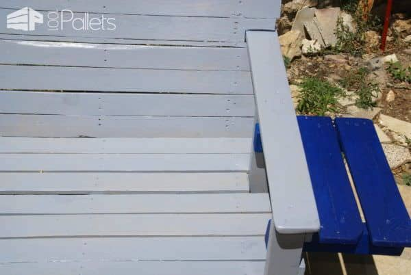 2 Persons Pallet Chair Pallet Benches, Pallet Chairs & Stools