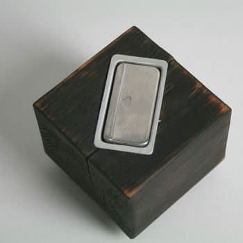 Ashtray Cube Made from Pallet
