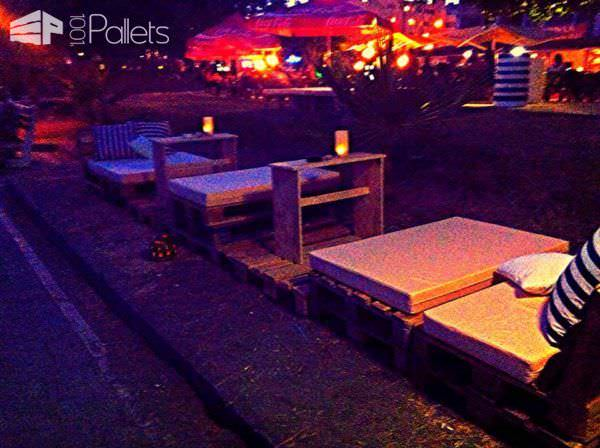 Beach Bar In Limassol Lounges & Garden Sets Pallet Store, Bar & Restaurant Decorations
