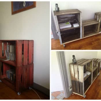 Furniture From Upcycled Wooden Crates