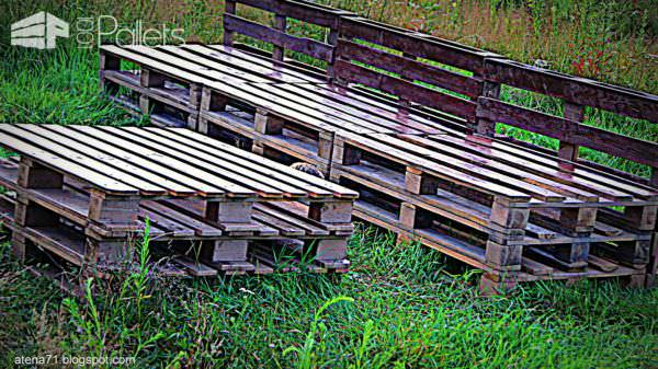 Garden Pallet Table & Bench Pallet Benches, Pallet Chairs & Pallet Stools