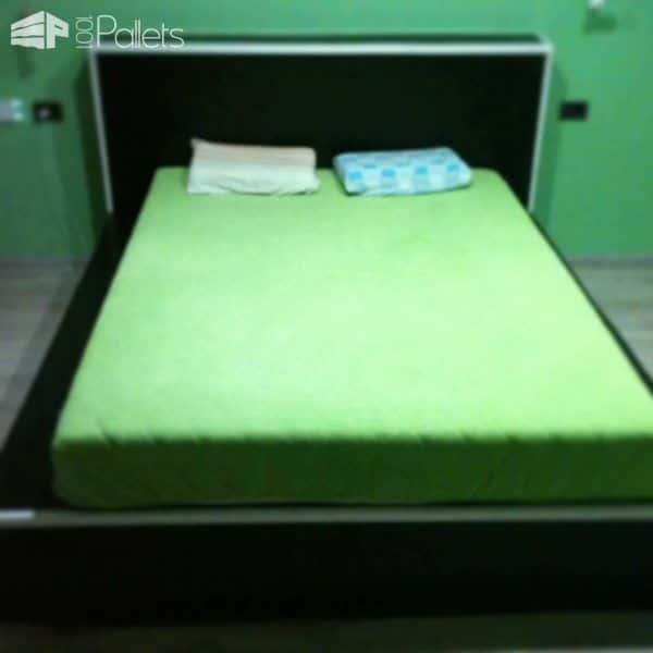 King Size Pallet Bed DIY Pallet Bedroom - Pallet Bed Frames & Pallet Headboards
