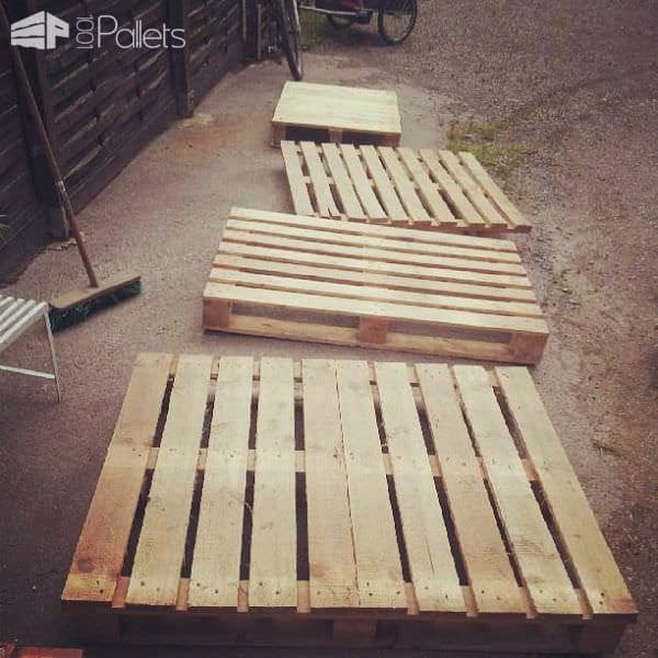 Little Princess Housebed From Upcycled Pallets Fun Pallet Crafts for Kids