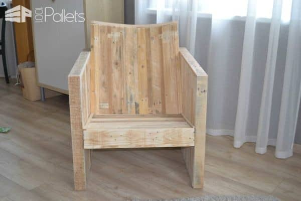 Pallet Club Armchair Pallet Benches, Pallet Chairs & Stools