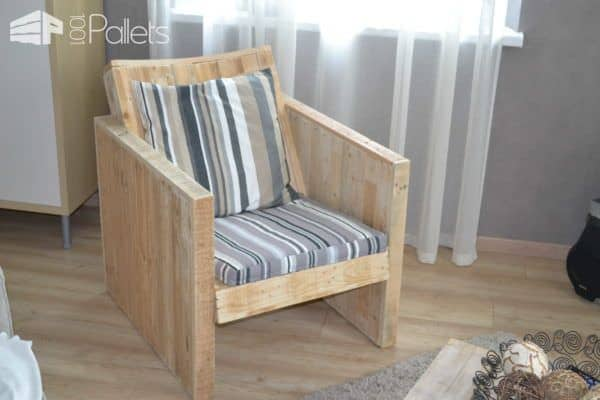 Pallet club armchair 1001 pallets for Pallet armchair