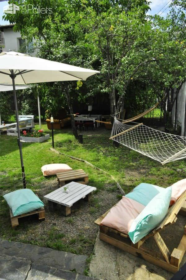 Pallet In The Garden: Planter + Bar + Sofa Pallet Planters & Compost Bins
