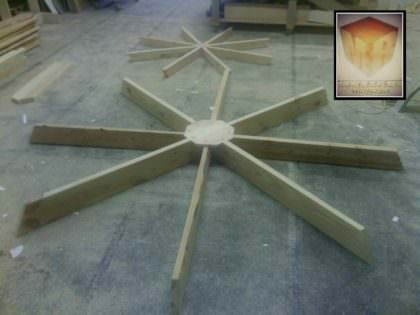 Pallet Octagon Table 1001 Pallets