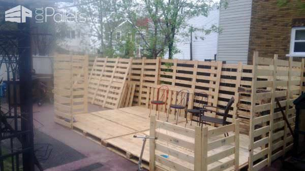 Pavilion Made From Recycled Pallets Pallet Sheds, Pallet Cabins, Pallet Huts & Pallet Playhouses