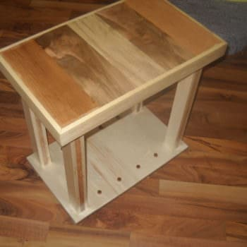 Recycled Side Table