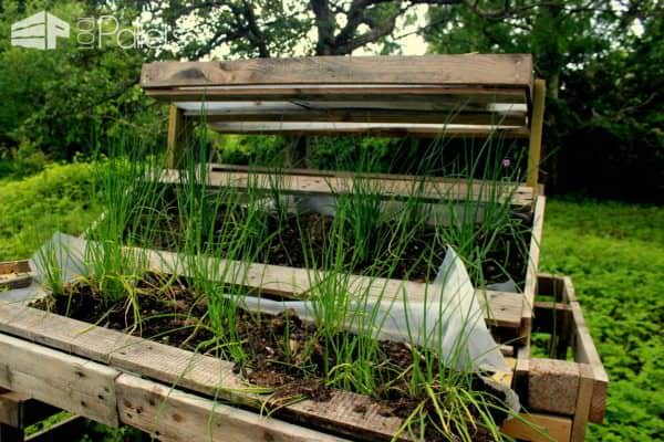 Several Use Of Pallets In The Garden Lounges & Garden Sets Pallet Planters & Compost Bins