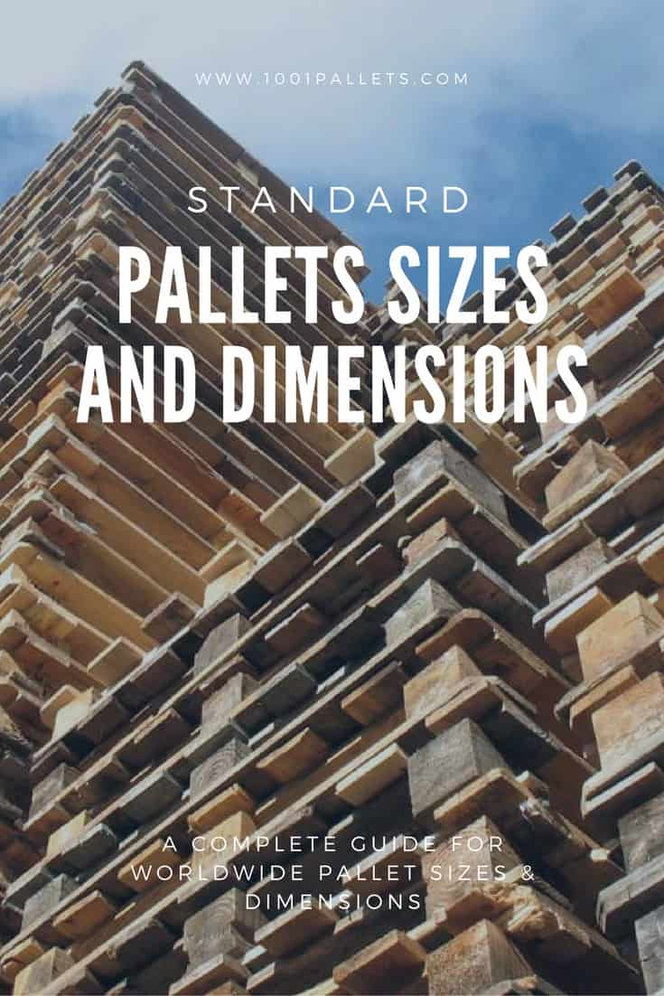 What Is The Size Of A Pallet Check The Standard Pallet