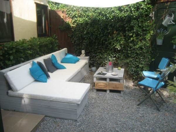 Zen Lounge From Repurposed Pallets Lounges & Garden Sets
