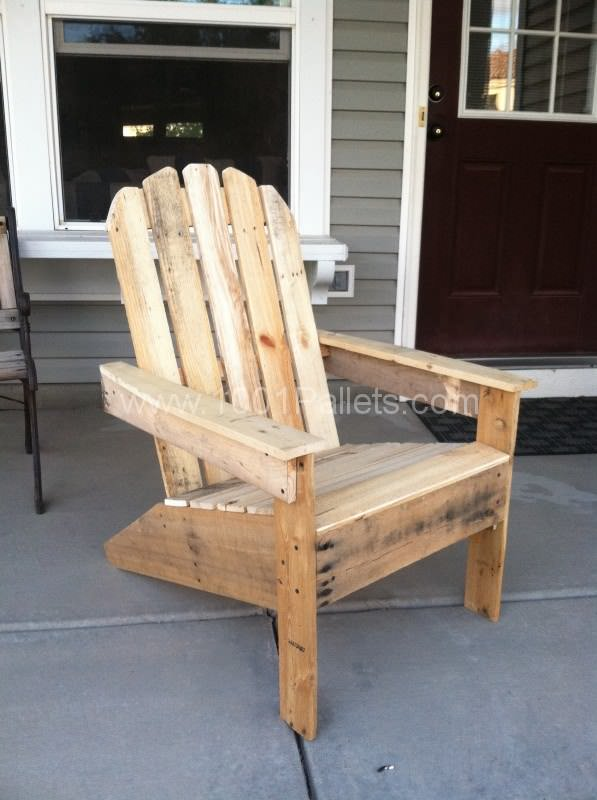 Adirondack Pallet Chairs Pallet Benches, Pallet Chairs & Pallet Stools