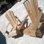 Adirondack chair building process in pictures : step by step !