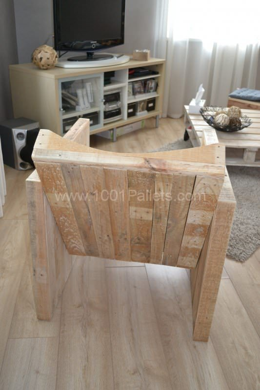 Pallet Club Armchair Pallet Benches, Pallet Chairs & Pallet Stools