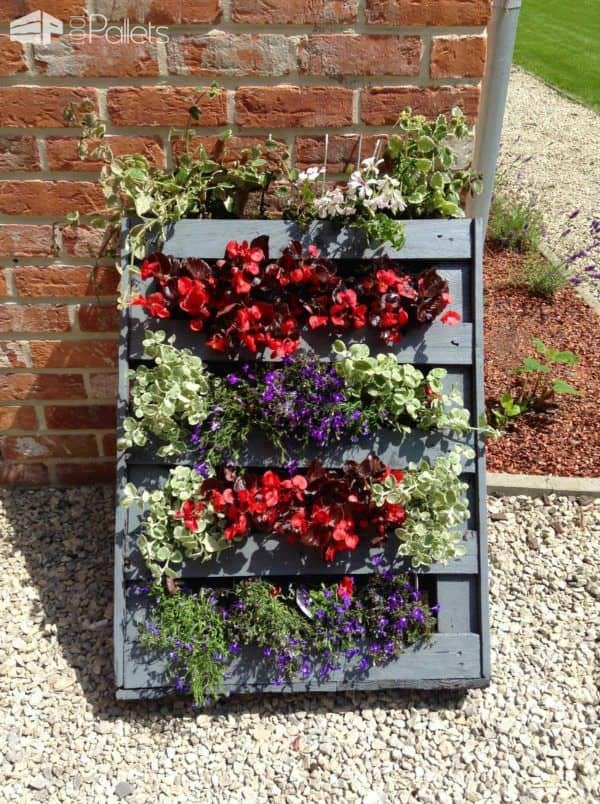 Using Pallets in the Garden Pallet Planters & Pallet Compost