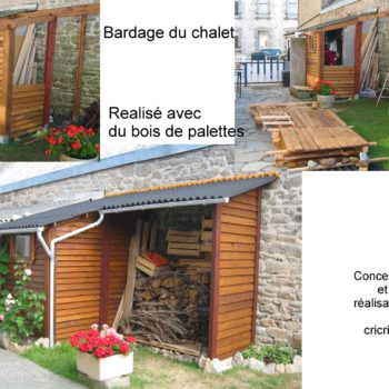 Pallet Outdoor Cottage