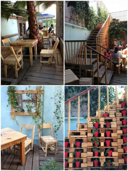 Bazar Fusion: A Mexican Designer's Bazaar Made Out Of An Entire Pallet Decor