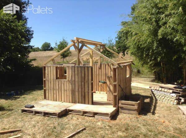 Canning Pallets House Pallet Sheds, Pallet Cabins, Pallet Huts & Pallet Playhouses