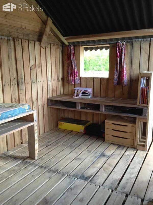 Canning Pallets House Pallet Sheds, Cabins, Huts & Playhouses