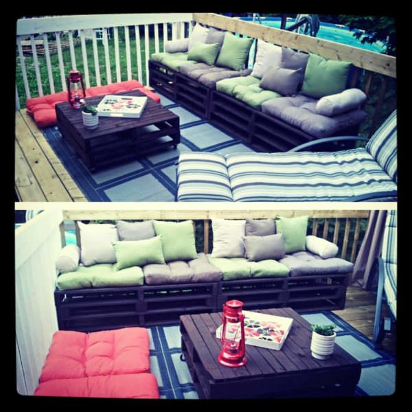 Divan Palette / Pallet Couch Lounges & Garden Sets