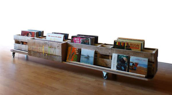 Dutch Pallet Design #2 Pallet Bookcases & Pallet Bookshelves Pallet Desks & Pallet Tables