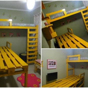 My Daughter's Room Done With Pallets & Scrap Wood