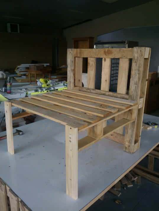 Pallet Armchair O 1001 Pallets
