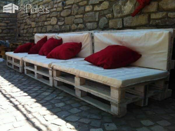Pallet Furniture For Guesthouse Pension Lounges & Garden Sets