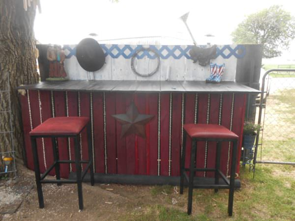 Pallet Outdoor Bar DIY Pallet Bars