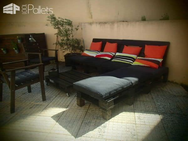 Patio Furniture Made From Old Pallets Lounges & Garden Sets