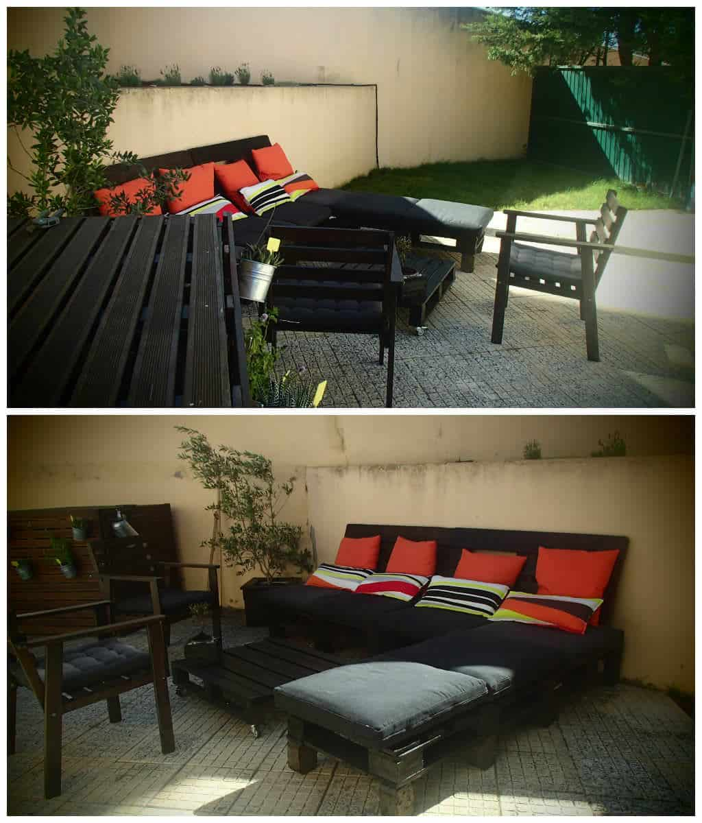 Diy outdoor patio furniture from pallets 99 pallets - Diy Outdoor Patio Furniture From Pallets 99 Pallets 55