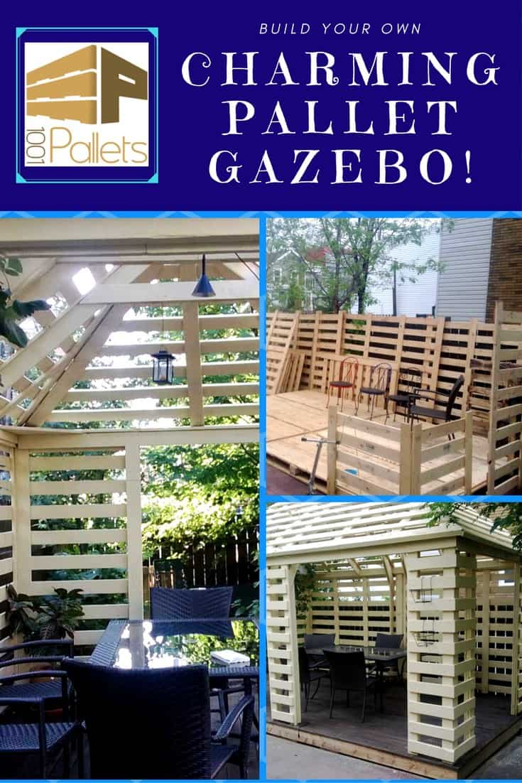 Do It Yourself Home Design: Pavilion Made From Recycled Pallets • Pallet Ideas • 1001