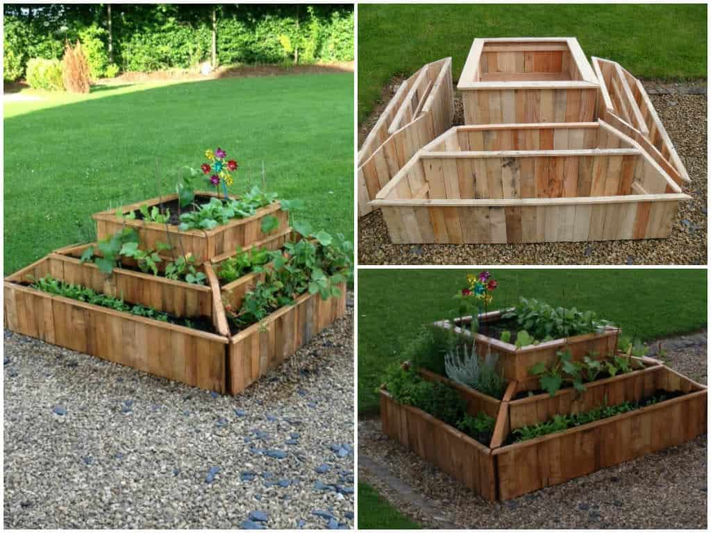 Planter From Pallets 1001 Pallets