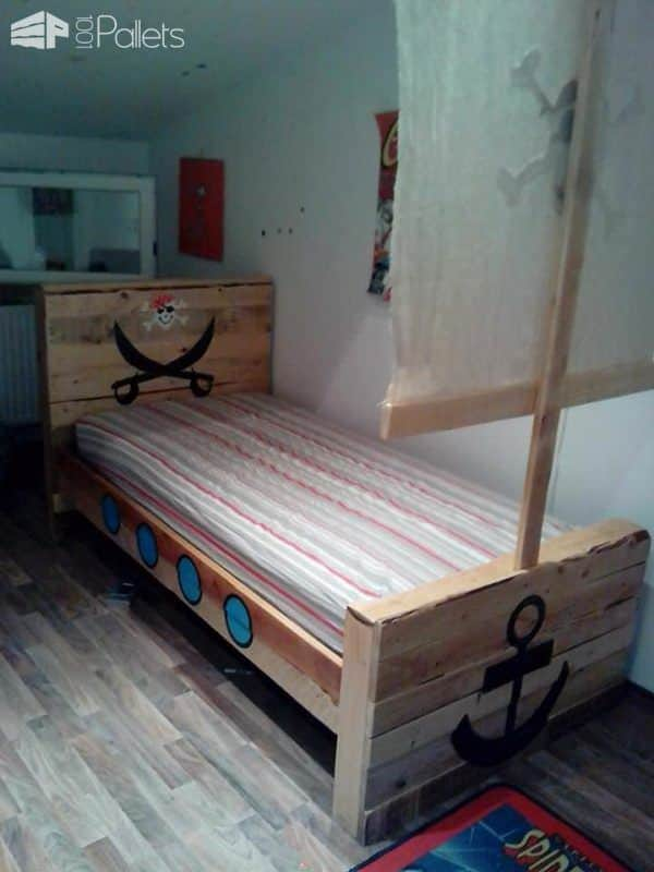 Diy Toddler Bed Pallet