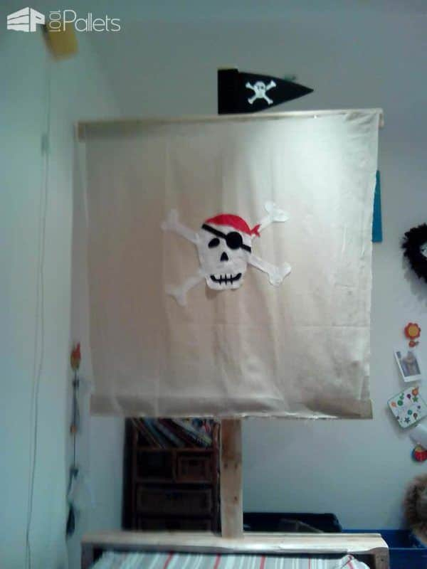 Toddler Pirate Pallet Bed Pallet Beds, Pallet Headboards & Frames