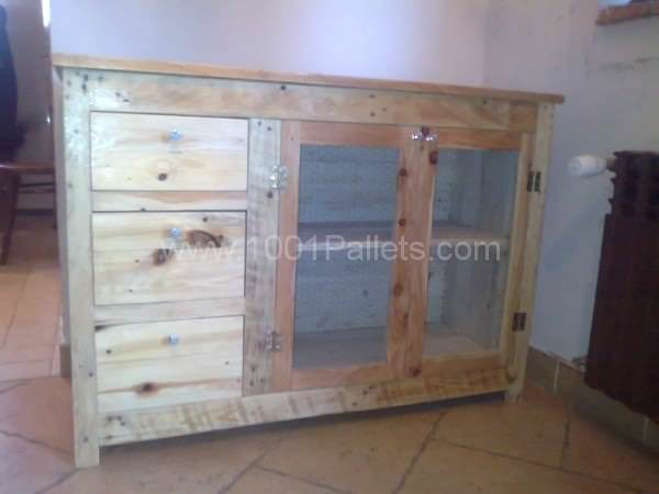 Pallet cabinet 1001 pallets - Cabinets made from pallets ...