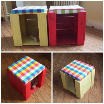 Kid's Stools To Play & Seat !
