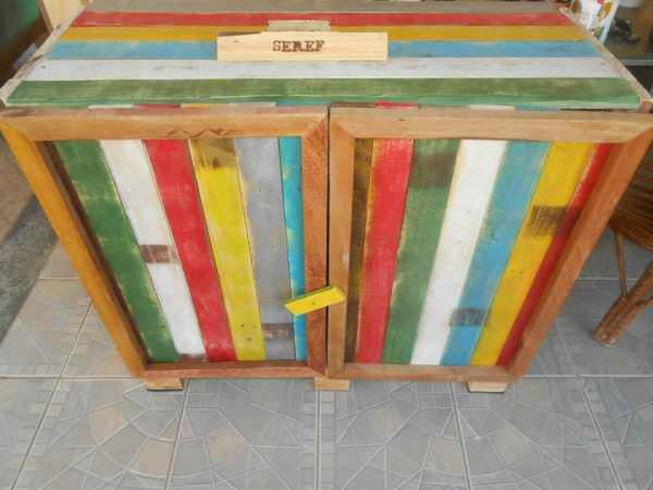 Kitchen Cabinet From Old Pallets Pallet Cabinets & Pallet Wardrobes