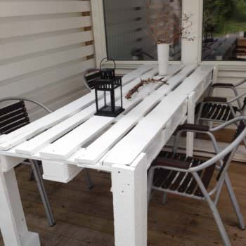 Pallet Porch Table