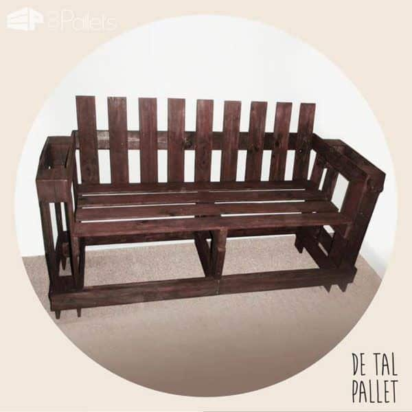 De Tal Pallet Pallet Benches, Pallet Chairs & Stools Pallet Coffee Tables