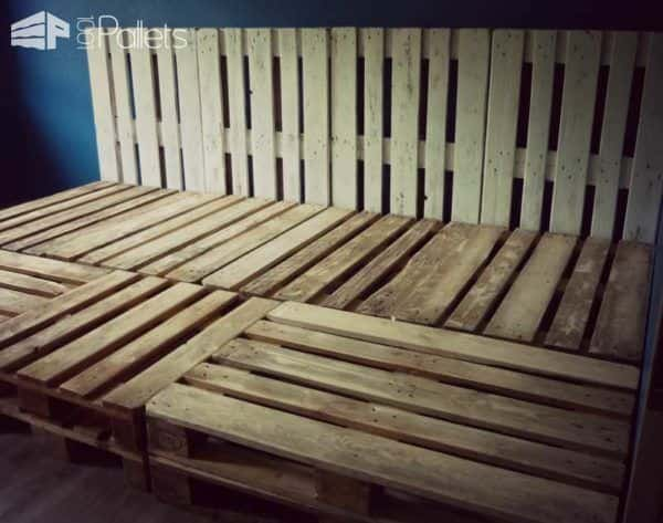 Family Pallet Bed Made Of Recycled Euro Pallets Pallet Beds, Pallet Headboards & Frames