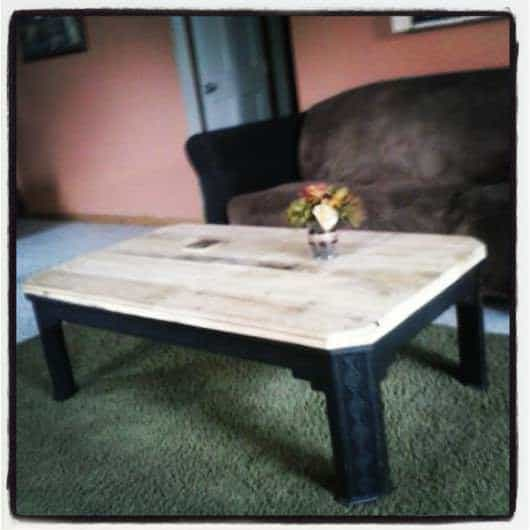 My Pallet Projects Pallet Desks & Pallet Tables Pallet Shelves & Pallet Coat Hangers