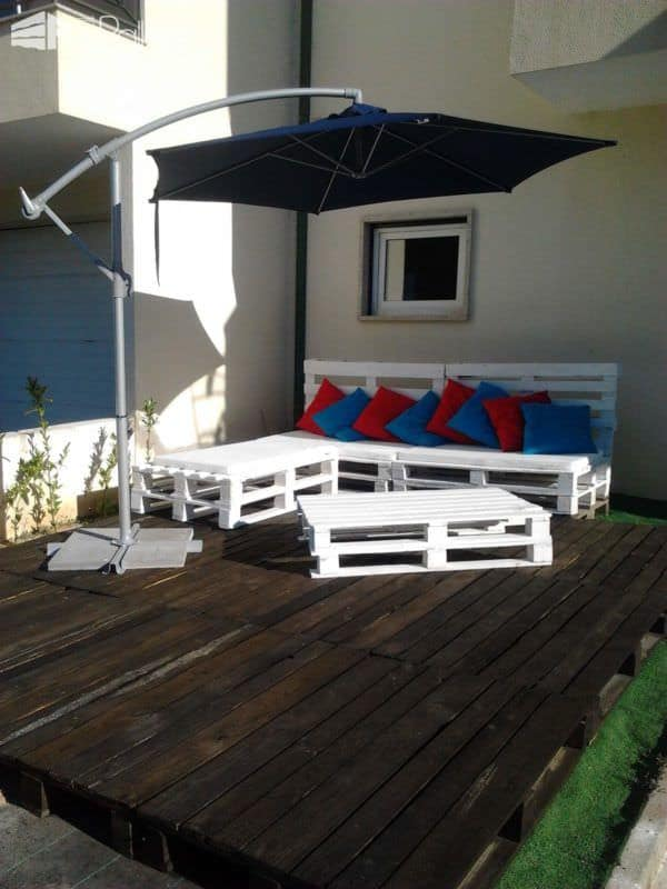 My Pallets Terrace Pallet Sofas & Couches Pallet Terraces & Pallet Patios