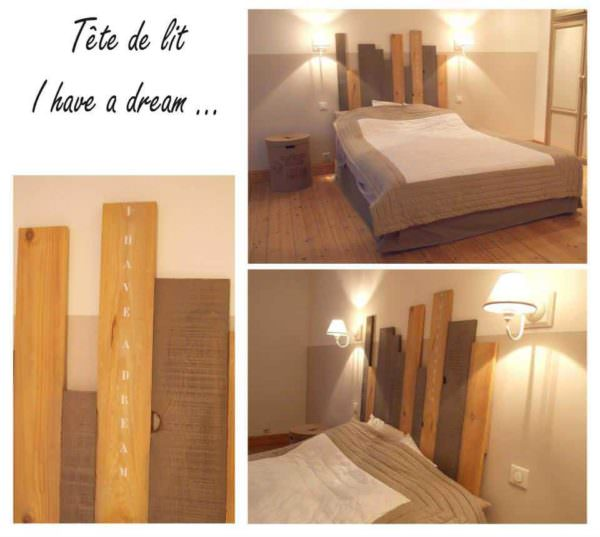 Pallet Bed Headboard I Have A Dream DIY Pallet Bedroom - Pallet Bed Frames & Pallet Headboards