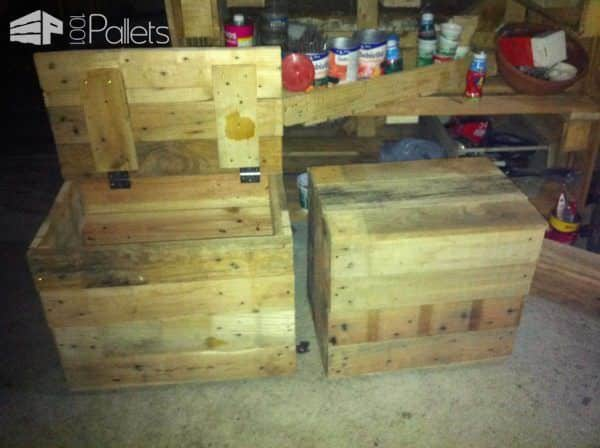 Pallet Boxes For House Pallet Boxes & Chests