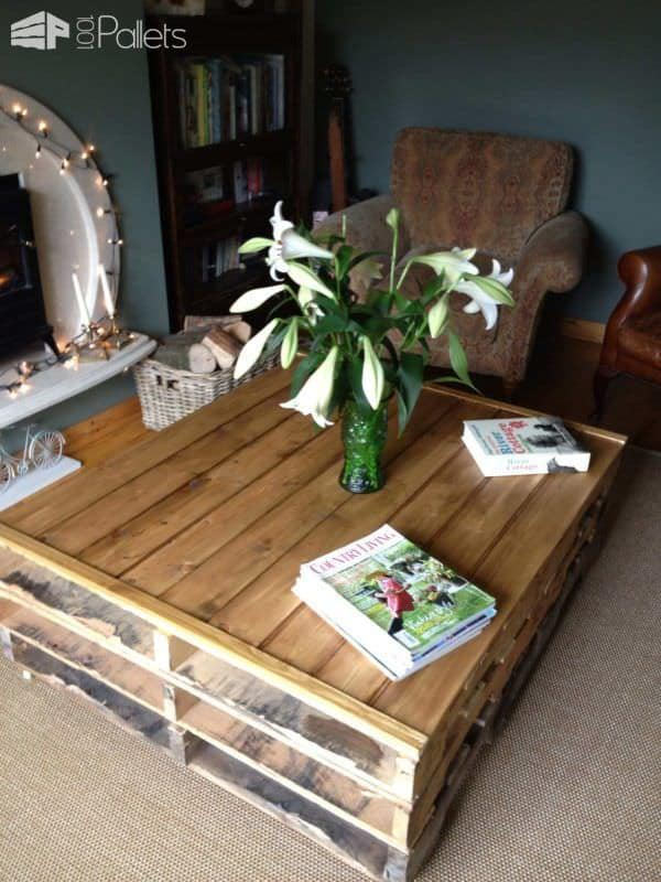 Pallet Coffee Table 1001 Pallets
