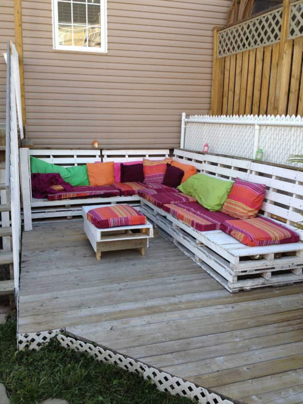Pallets Bench To Relax Pallet Benches, Pallet Chairs & Stools