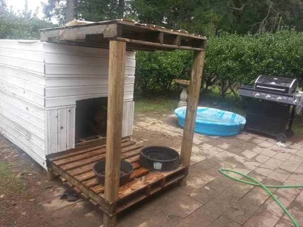 Pallets Doghouse Animal Pallet Houses & Pallet Supplies