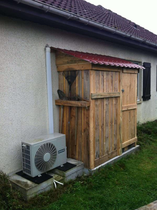 Pallets Garden Shed Pallet Sheds, Cabins, Huts & Playhouses
